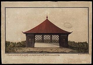 Prospecto da Casa da May d'água feita pelo Senado da Câmara da cidade do Pará no ano de 1783