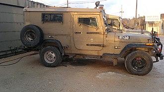 "Jeep Wrangler - Up-armoured AIL Storm I, (""Sufa"")"