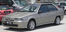 Proton Saga (re-release; second facelift) (front), Serdang.jpg