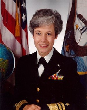 Patricia Ann Tracey - Vice Admiral Patricia Tracey