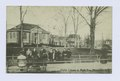 Public Library & Park, Port Richmond, Staten Island (people sitting on park benches in front of library) (NYPL b15279351-104865).tiff