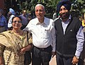 Punjabi writers - Sultana Begam ,Khalid Hussain and Harvinder Singh.jpg