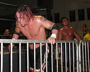 CM Punk - Punk in a match against Danny Dominion at an NWA Midwest event on November 23, 2002