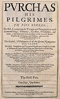 Purchas his Pilgrimes by Samuel Purchas.jpg