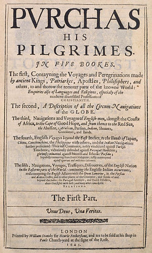 His genitive -  Purchas his Pilgrimes, London, 1625