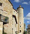 Puy l'Evêque , Château Beauregard, dans la tour l' escalier.jpg