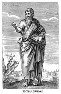 Pythagoras in Thomas Stanley History of Philosophy.jpg