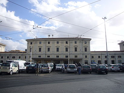 How to get to Stazione Di Roma Trastevere with public transit - About the place