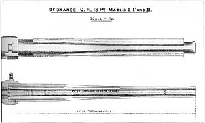 Ordnance QF 18-pounder - Barrel construction