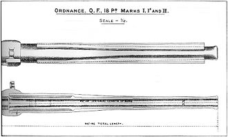 QF 18-pounder gun - Barrel construction