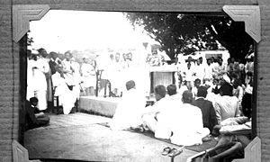 Quit India Movement - Public lecture at Basavanagudi, Bengaluru with Charles Freer Andrews