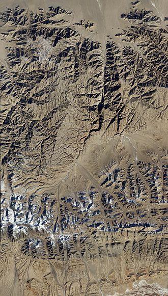 Qinghai - Satellite image of Qinghai.
