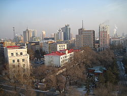 Skyline of Qiqihar