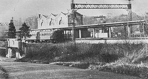 Quaker Ridge (NYW&B station) - Image: Quaker Ridge Station 3