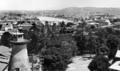 Queensland State Archives 159 Brisbane looking west from Wickham Terrace towards the William Jolly Bridge Taylor Range and Mount Coottha c 1932.png
