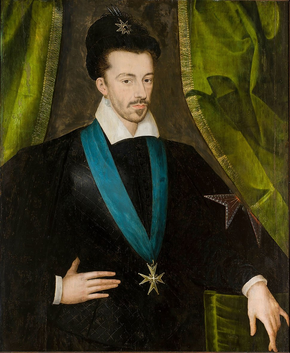 Quesnel Henry III of France in Polish hat