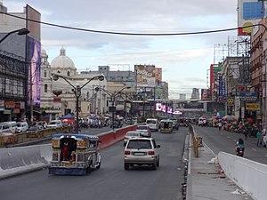 Radial Road 8 - Quezon Boulevard near Plaza Miranda