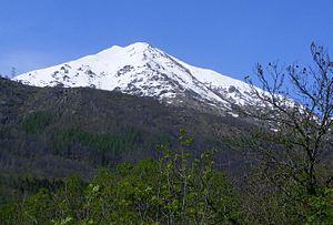 Borgiallo - Mount Quinseina from Borgiallo
