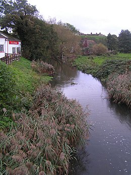 R. Piddle from the North bridge, Wareham - geograph.org.uk - 268282.jpg
