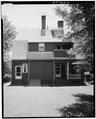 REAR ELEVATION FROM NORTH - George S. Knapp House, 2414 North Avenue, Bridgeport, Fairfield County, CT HABS CONN,1-BRIGPO,2-4.tif