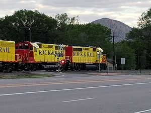 Rock and Rail LLC - Image: RRRR though the Royal Gorge