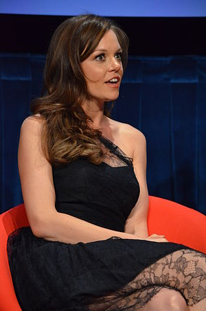 Rachel Boston - Boston at the Paley Center in April 2012