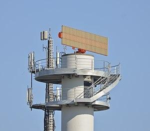 Radar tower Frankfurt Airport - Radarturm Flughafen Frankfurt.jpg