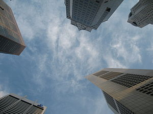 Disneyland with the Death Penalty - Skyscrapers in Raffles Place in the Central Business District
