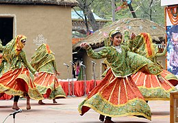 Rakasthani folk dance at Delhi.jpg