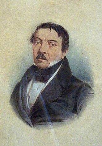 Ramón Carnicer - Portrait of Carnicer, c. 1830