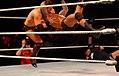Randy Orton RKO a Miz.jpg