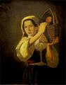 Rapariga com cesto ao ombro - Teresa de Saldanha.png
