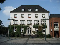The townhall of Grevenbroich