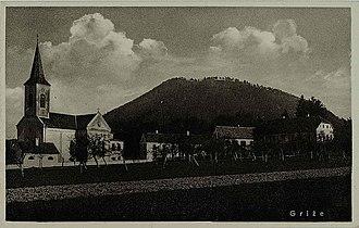 Griže, Žalec - 1932 postcard of Griže, Žalec