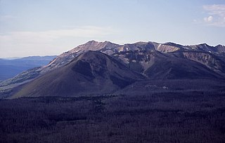 Factory Hill mountain in United States of America