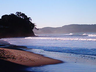 Red Beach, New Zealand - Surf at Red Beach