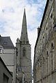 Redon (35) Abbatiale Saint-Sauveur Extérieur 01.JPG