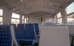 British Rail Class 438 - Interior of refurbished end of 4TC coach 76327