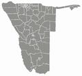 Regionen und Wahlkreise in Namibia dunkelgrau.png