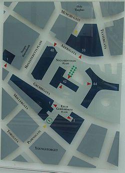 kart regjeringskvartalet oslo Regjeringskvartalet – Wikipedia kart regjeringskvartalet oslo