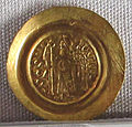 Regno longobardo, emissione aurea di liutprando, zecca di pavia, 712-744, 05.JPG