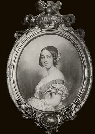 Charles Louis Gratia - Queen Victoria by Gratia