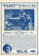 Release flier for PANSY, 1912.jpg