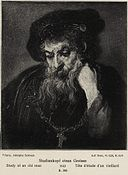 Rembrandt - An Old Man almost in Full Face..jpg