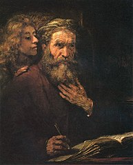 St. Matthew and the Angel
