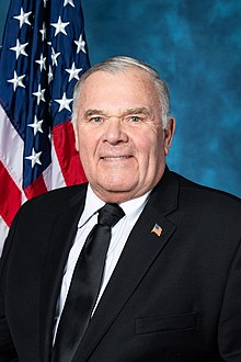 Rep. Jim Baird official photo, 116th congress.jpg