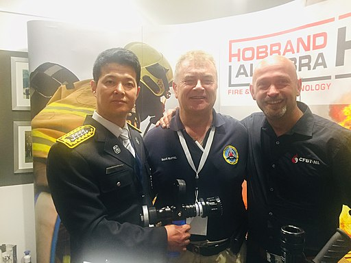 Republic of Korea firefighter Yang Jae-young, Shan Raffel CFBT-NL