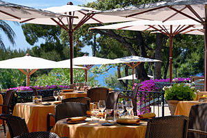 Grand-Hôtel du Cap-Ferrat - Restaurant at the hotel