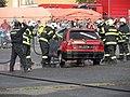 Retro městečko D09. Zásah-hořící auto.jpg