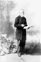 Missionary Cushing Eells built the first church in Spokane Falls